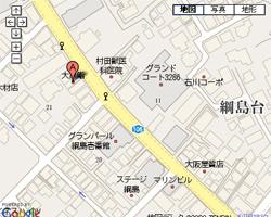 寿司屋 大黒鮨 神奈川県横浜市港北区綱島西 地図